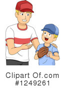 Royalty-Free (RF) Father Clipart Illustration #1249261