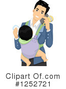 Father Clipart #1252721 by BNP Design Studio