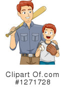 Royalty-Free (RF) Father Clipart Illustration #1271728