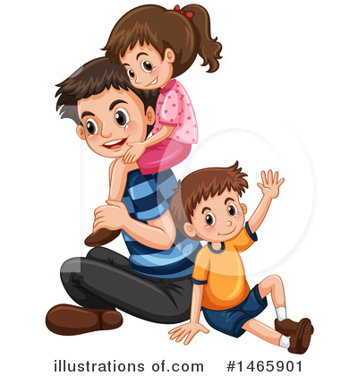 Family Clipart #1465901 by Graphics RF