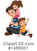 Royalty-Free (RF) Father Clipart Illustration #1465901
