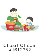 Father Clipart #1613352 by BNP Design Studio