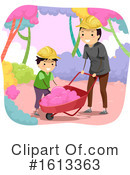 Father Clipart #1613363 by BNP Design Studio