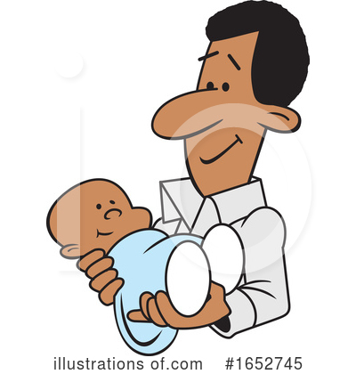 Royalty-Free (RF) Father Clipart Illustration by Johnny Sajem - Stock Sample #1652745