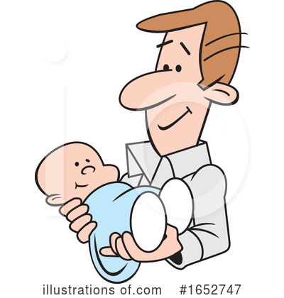 Father Clipart #1652747 by Johnny Sajem
