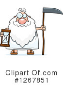 Father Time Clipart #1267851 by Cory Thoman