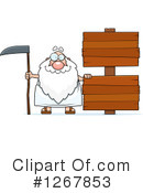 Father Time Clipart #1267853 by Cory Thoman