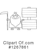 Father Time Clipart #1267861 by Cory Thoman