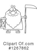 Father Time Clipart #1267862 by Cory Thoman