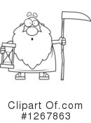 Father Time Clipart #1267863 by Cory Thoman