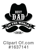 Fathers Day Clipart #1637141 by Vector Tradition SM