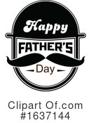 Fathers Day Clipart #1637144 by Vector Tradition SM