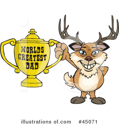 Buck Clipart #45071 by Dennis Holmes Designs