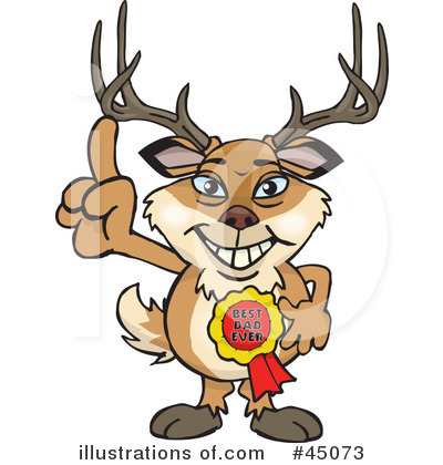 Buck Clipart #45073 by Dennis Holmes Designs