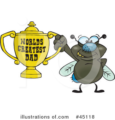 House Fly Clipart #45118 by Dennis Holmes Designs
