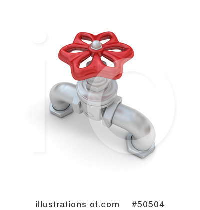 Faucet Clipart #50504 by Frank Boston