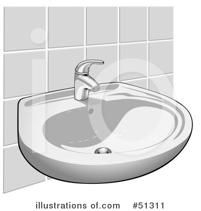 Royalty-Free (RF) Faucet Clipart Illustration by dero - Stock Sample #51311