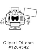 Fax Machine Clipart #1204542 by Cory Thoman