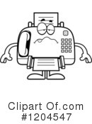 Fax Machine Clipart #1204547 by Cory Thoman