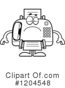Fax Machine Clipart #1204548 by Cory Thoman