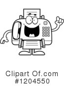 Fax Machine Clipart #1204550 by Cory Thoman