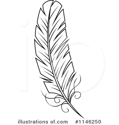 Feather Clipart #1146250 by Vector Tradition SM