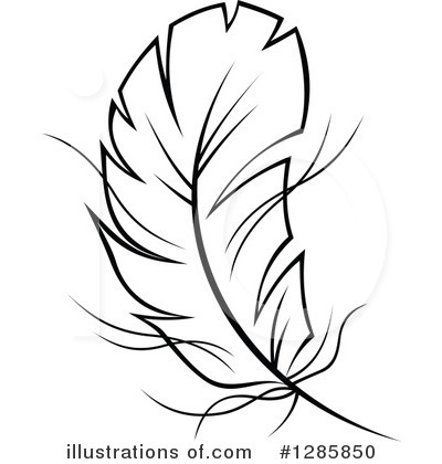Feather Clipart #1285850 by Vector Tradition SM
