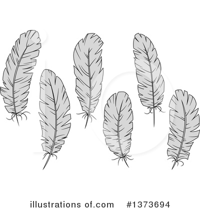 Feather Clipart #1373694 by Vector Tradition SM