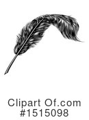Feather Clipart #1515098 by AtStockIllustration