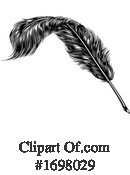 Feather Clipart #1698029 by AtStockIllustration