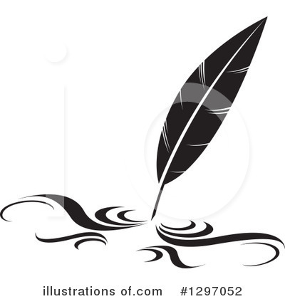 Writing Clipart #1297052 by Lal Perera