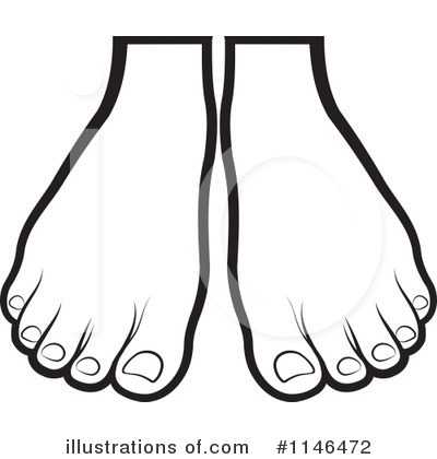 Royalty-Free (RF) Feet Clipart Illustration by Lal Perera - Stock Sample #1146472