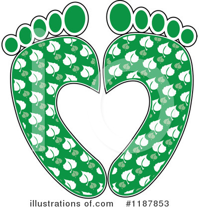 Foot Clipart #1187853 by Maria Bell