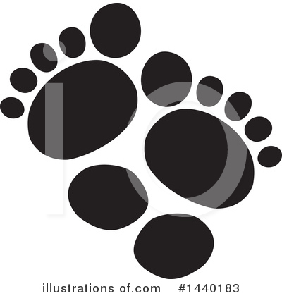 Feet Clipart #1440183 by ColorMagic