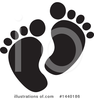 Feet Clipart #1440186 by ColorMagic