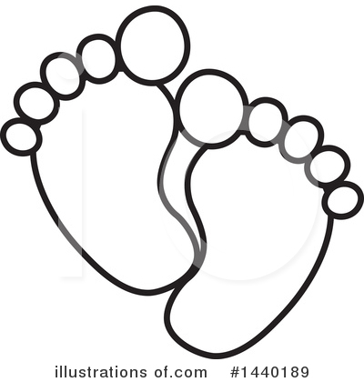 Feet Clipart #1440189 by ColorMagic