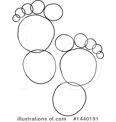 Feet Clipart #1440191 by ColorMagic