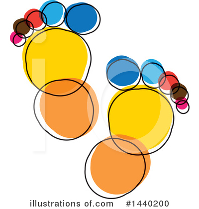 Feet Clipart #1440200 by ColorMagic