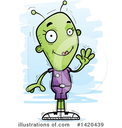 Aliens Clipart #1420439 by Cory Thoman