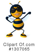 Female Bee Clipart #1307065 by Julos