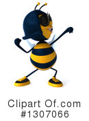 Female Bee Clipart #1307066 by Julos