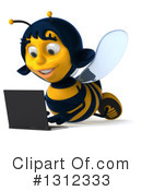 Female Bee Clipart #1312333 by Julos