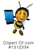 Female Bee Clipart #1312334 by Julos
