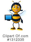 Female Bee Clipart #1312335 by Julos