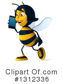 Female Bee Clipart #1312336 by Julos