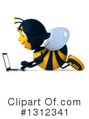 Female Bee Clipart #1312341 by Julos