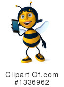 Female Bee Clipart #1336962 by Julos