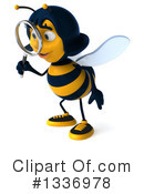Female Bee Clipart #1336978 by Julos