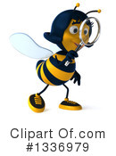 Female Bee Clipart #1336979 by Julos