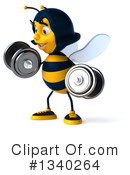 Female Bee Clipart #1340264 by Julos